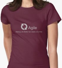 Agile Making Life Better Women's Fitted T-Shirt