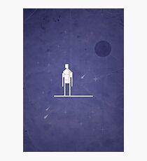8-bit Galactic Surfer Photographic Print