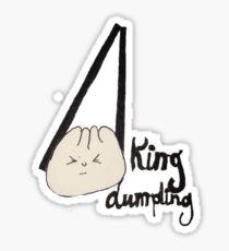 King Dumpling Sticker