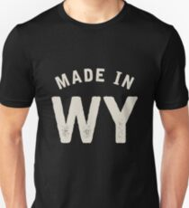 Made in WY Unisex T-Shirt