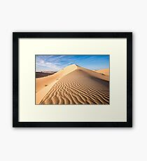 Sand in the dune Framed Print