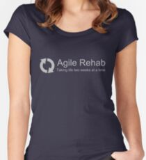 Agile Rehab  Women's Fitted Scoop T-Shirt