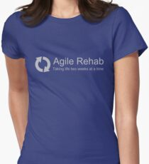 Agile Rehab  Womens Fitted T-Shirt