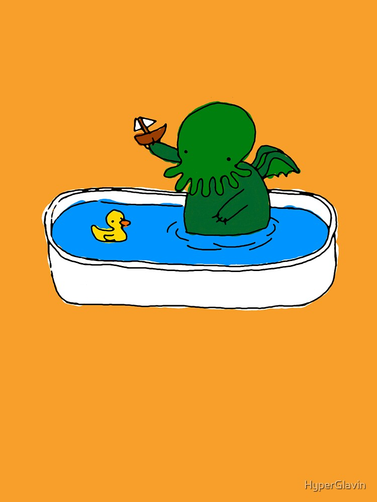 Bathtime for Cute-thulhu | Unisex T-Shirt