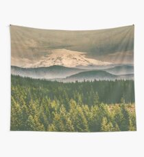 Mountains - Mt. Hood from Washington Wall Tapestry