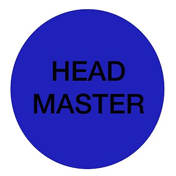 Head master by extremistshop