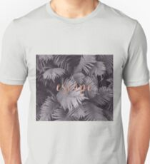 Rose gold escape in the shadows T-Shirt