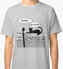 Cat and Bird Hashtags #horny #confused Classic T-Shirt