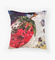 Whats wrong with Cube Strawberries Throw Pillow