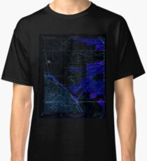 USGS TOPO Map California CA Tupman 296572 1933 31680 geo Inverted Classic T-Shirt