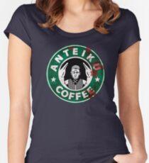 Anteiku coffee - TG Women's Fitted Scoop T-Shirt