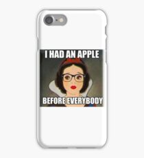 Apples Before Everyone \\ Ironic Royalty Collection iPhone Case/Skin