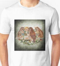 Vintage Owl Unisex T-Shirt