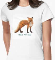 Moxie + Foxy \\ Modern Creatures Womens Fitted T-Shirt