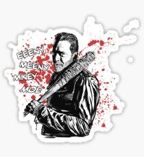 Negan - Eeeny Meeny Sticker