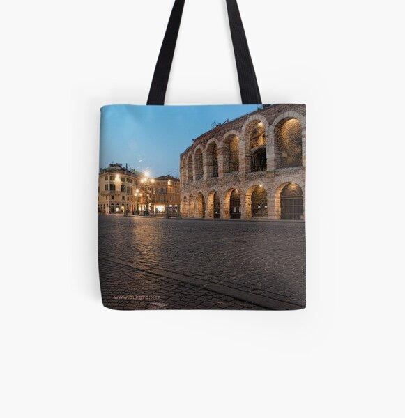 L'Arena, Verona, Italy All Over Print Tote Bag