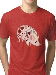 Tattoo Pig Tri-blend T-Shirt