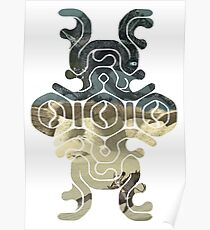 Shadow of the colossus mark silhouette sotc Poster