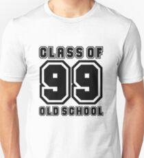 Class of 99 Old School Unisex T-Shirt