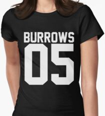 Lincoln Burrows 05 Women's Fitted T-Shirt