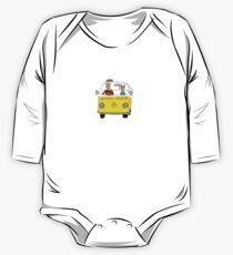 igor and iris off for a surf One Piece - Long Sleeve