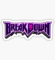 BREAKDOWN JOJO Sticker