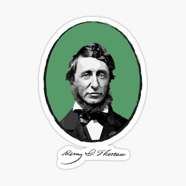Henry David Thoreau Sticker
