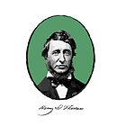 Henry David Thoreau by Printables Passions