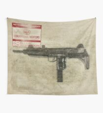 Conventional Weapons Number Three Flag Wall Tapestry