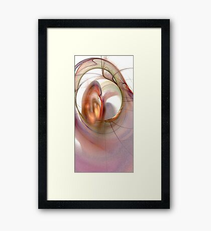 The Seduction Framed Print