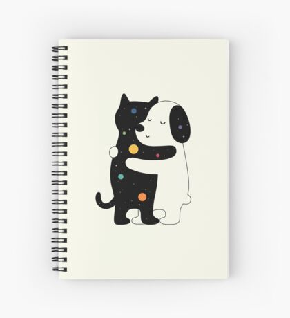 Universal Language Spiral Notebook