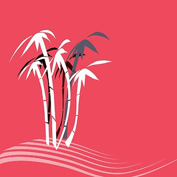 Palm Trees graphic art by 4Flexiway