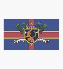 The Holy Empire of Britannia Flag Photographic Print