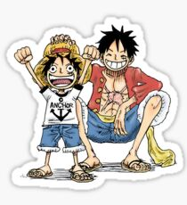 Younger and Adult LUFFY Sticker