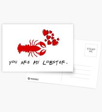 You are my lobster Postcards
