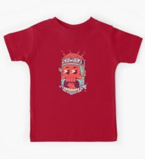 A Colourful Screaming Skull Kids Clothes