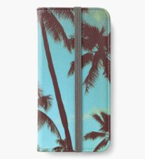 Vinilo o funda para iPhone Vintage Tropical Palms