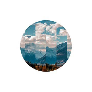 Future Retro Nature Collage by devonguinn