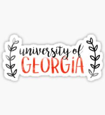 UGA Sticker