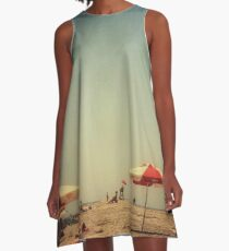 One Summer Day at the Beach A-Line Dress