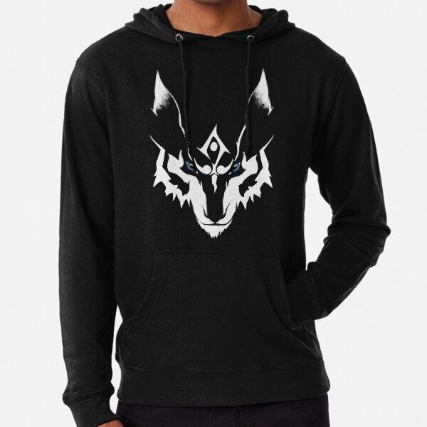 Animal Zoo Coyote Pup Arctic Twilight Wolf In Full Moon Mens Navy Sweatshirt
