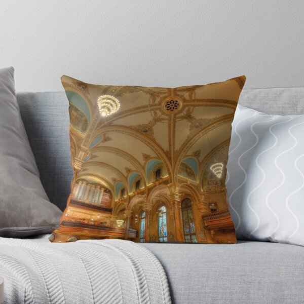 The Great Works Throw Pillow