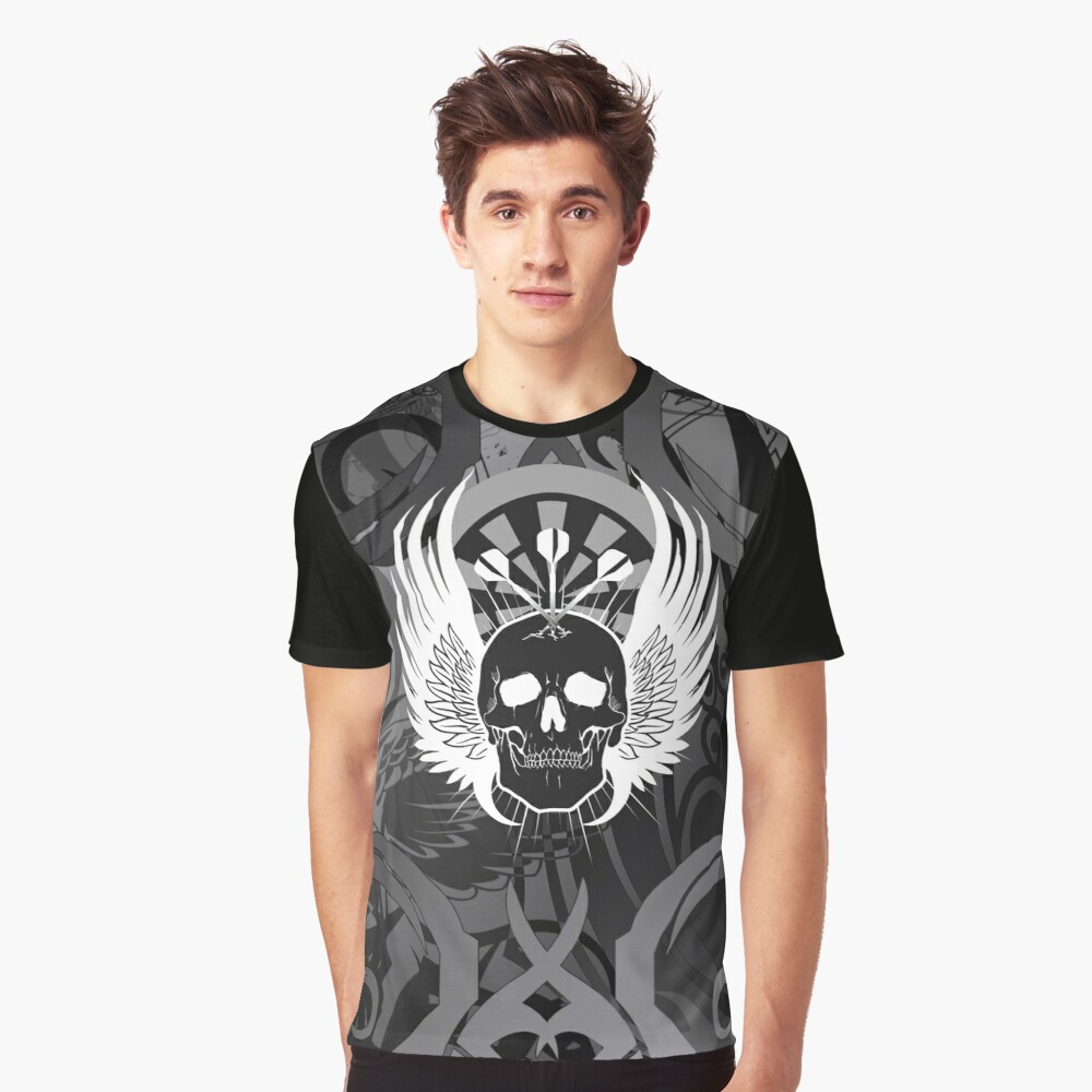 Darts: Army Of Three Graphic T-Shirt Front