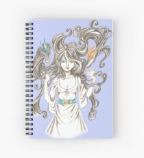 Dimond Dragons Spiral Notebook