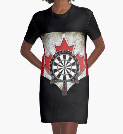 Darts Canada Graphic T-Shirt Dress