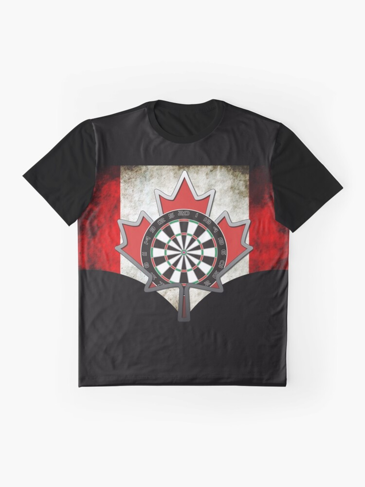 Alternate view of Darts Canada Graphic T-Shirt
