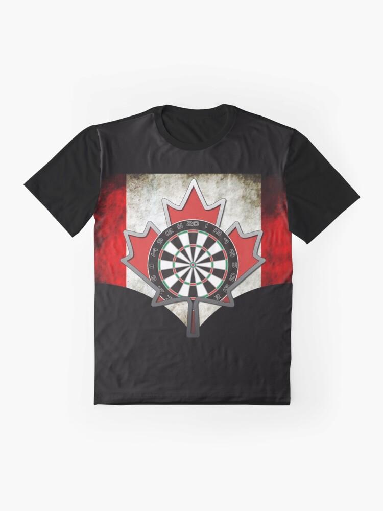 Alternate view of Darts Canada Graphic T-Shirt