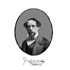 Charles Dickens by Printables Passions
