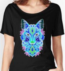 Neon Fox Women's Relaxed Fit T-Shirt