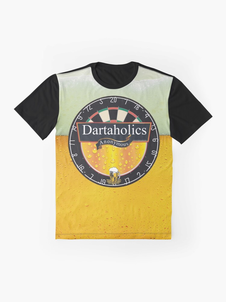 Alternate view of Dartaholics Anonymous Graphic T-Shirt
